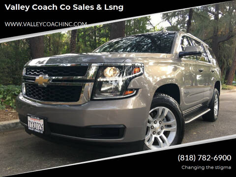 2017 Chevrolet Tahoe for sale at Valley Coach Co Sales & Lsng in Van Nuys CA