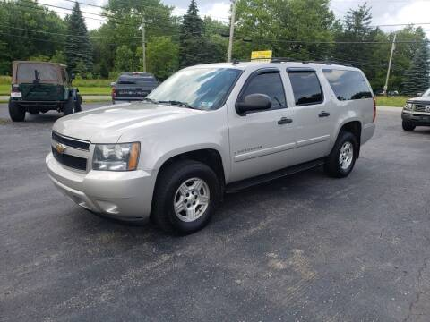 2007 Chevrolet Suburban for sale at Motorsports Motors LLC in Youngstown OH