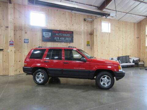 1998 Jeep Grand Cherokee for sale at Boone NC Jeeps-High Country Auto Sales in Boone NC