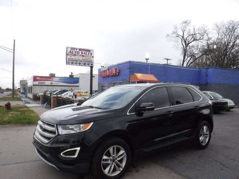 2015 Ford Edge for sale at City Motors Auto Sale LLC in Redford MI