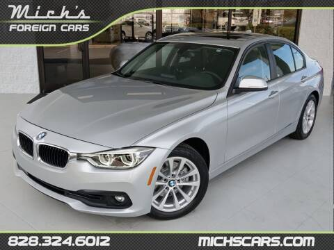 2018 BMW 3 Series for sale at Mich's Foreign Cars in Hickory NC