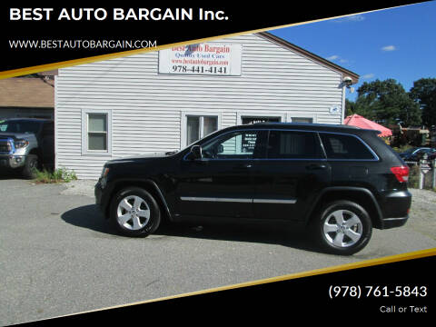 2013 Jeep Grand Cherokee for sale at BEST AUTO BARGAIN inc. in Lowell MA