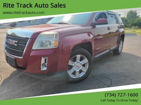 2011 GMC Terrain for sale at Rite Track Auto Sales in Wayne MI