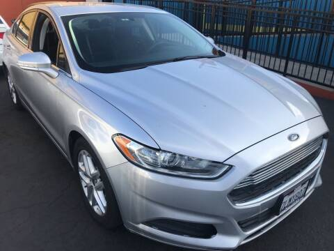 2015 Ford Fusion for sale at CARZ in San Diego CA