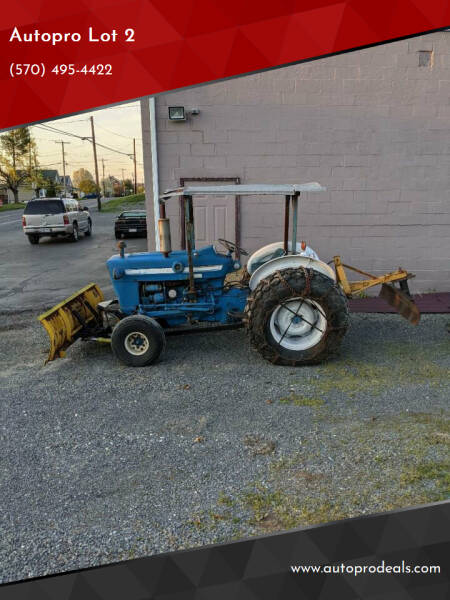 1974 Ford 3000 Trctor for sale at Autopro Lot 2 - Autopro in Sunbury PA