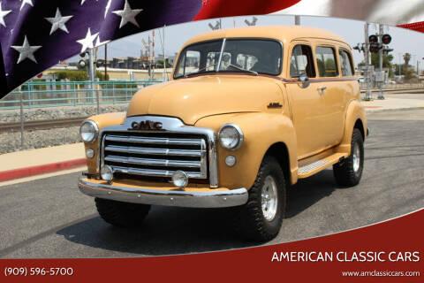1953 GMC Suburban for sale at American Classic Cars in La Verne CA