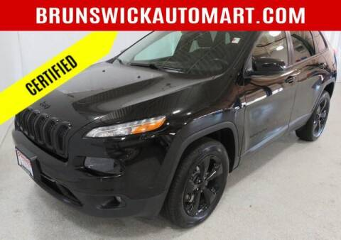 2017 Jeep Cherokee for sale at Brunswick Auto Mart in Brunswick OH