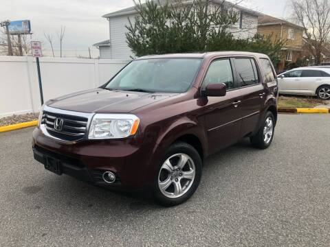 2013 Honda Pilot for sale at Giordano Auto Sales in Hasbrouck Heights NJ