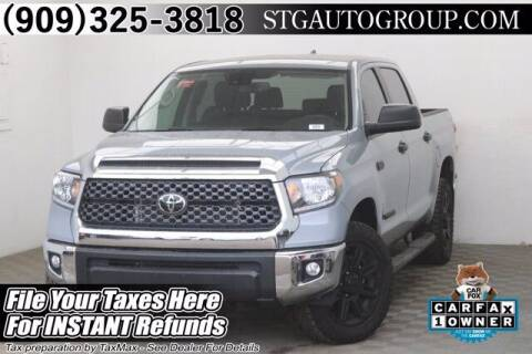2020 Toyota Tundra for sale at STG Auto Group in Montclair CA