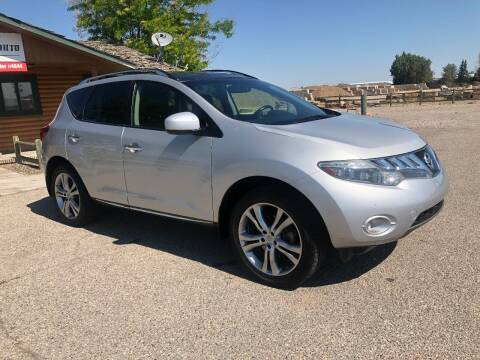 2010 Nissan Murano for sale at 5 Star Truck and Auto in Idaho Falls ID