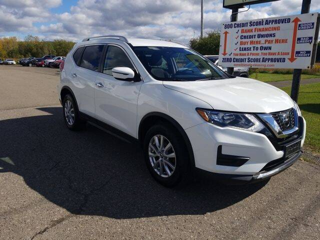 2017 Nissan Rogue for sale at Sensible Sales & Leasing in Fredonia NY