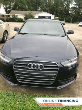 2014 Audi A4 for sale at Gralin Hampton Auto Sales in Summerville SC
