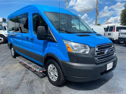2015 Ford Transit Passenger for sale at Truck and Van Outlet in Miami FL