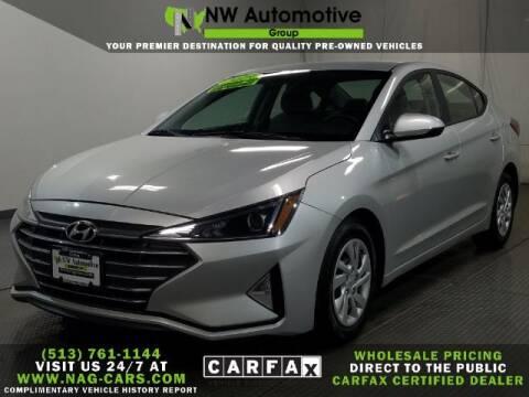 2019 Hyundai Elantra for sale at NW Automotive Group in Cincinnati OH