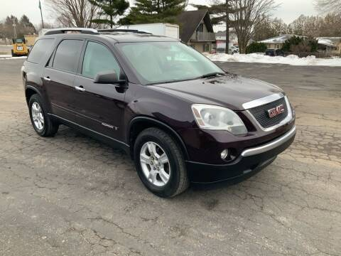 2008 GMC Acadia for sale at Stein Motors Inc in Traverse City MI