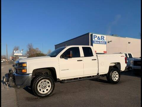 2017 Chevrolet Silverado 2500HD for sale at P & R Auto Sales in Pocatello ID