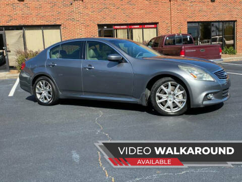 2011 Infiniti G37 Sedan for sale at Selective Imports in Woodstock GA