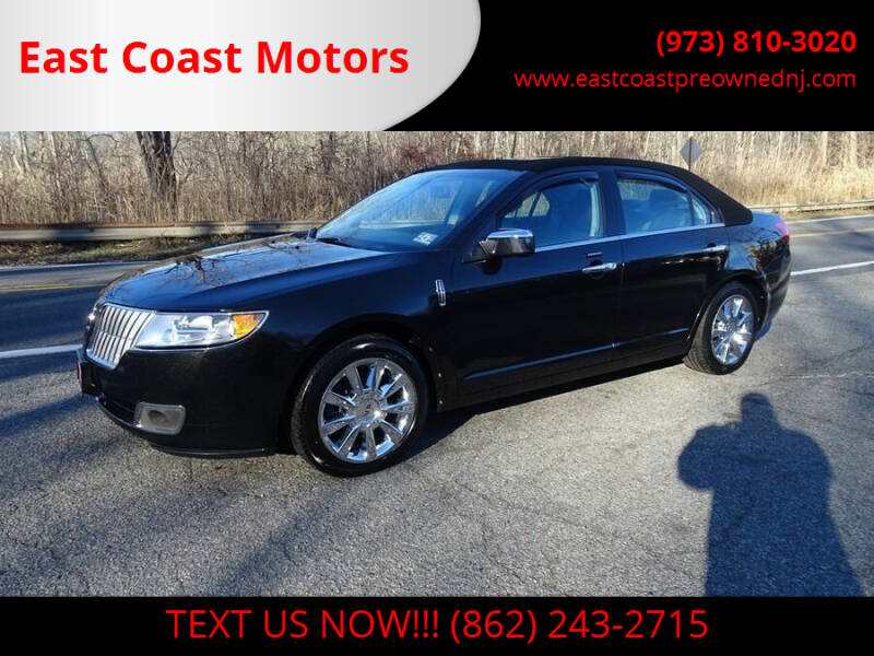 2012 Lincoln MKZ for sale at East Coast Motors in Lake Hopatcong NJ