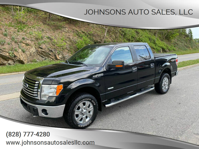 2012 Ford F-150 for sale at Johnsons Auto Sales, LLC in Marshall NC