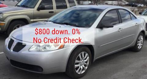 2007 Pontiac G6 for sale at D & J AUTO EXCHANGE in Columbus IN