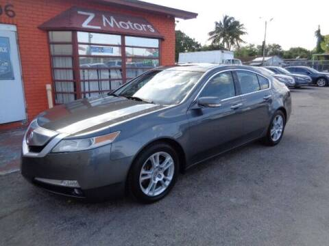 2010 Acura TL for sale at Z Motors in North Lauderdale FL