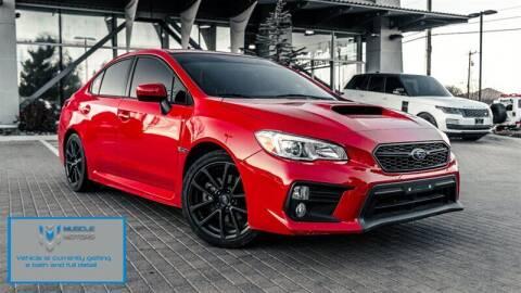 2018 Subaru WRX for sale at MUSCLE MOTORS AUTO SALES INC in Reno NV