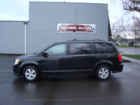 2012 Dodge Grand Caravan for sale at Motion Autos in Longview WA
