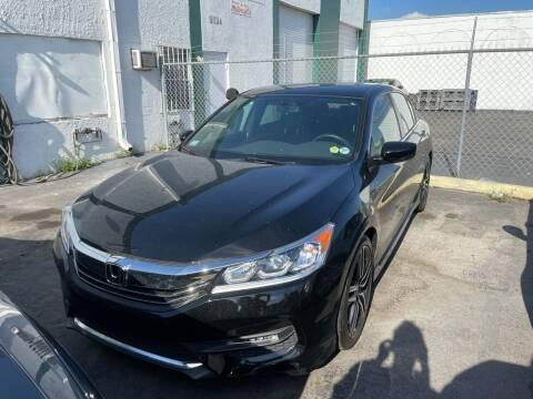 2016 Honda Accord for sale at Dream Cars 4 U in Hollywood FL