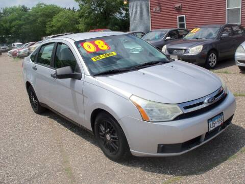 2008 Ford Focus for sale at Country Side Car Sales in Elk River MN