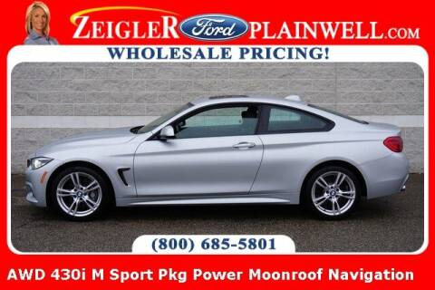 2019 BMW 4 Series for sale at Zeigler Ford of Plainwell- michael davis in Plainwell MI