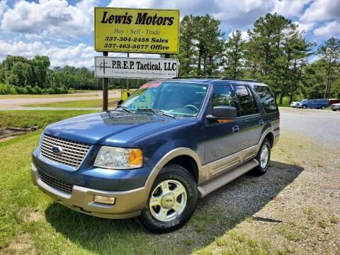 2004 Ford Expedition for sale at Lewis Motors LLC in Deridder LA
