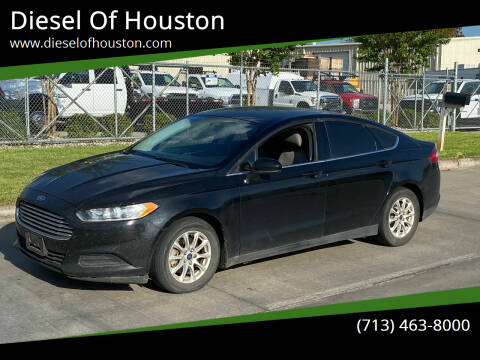 2016 Ford Fusion for sale at Diesel Of Houston in Houston TX