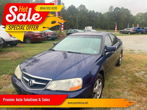 2003 Acura TL for sale at Premier Auto Solutions & Sales in Quinton VA
