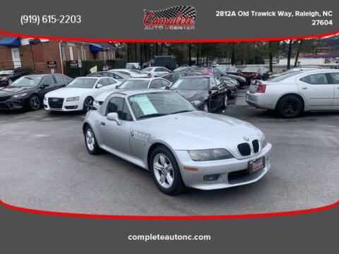 2000 BMW Z3 for sale at Complete Auto Center , Inc in Raleigh NC