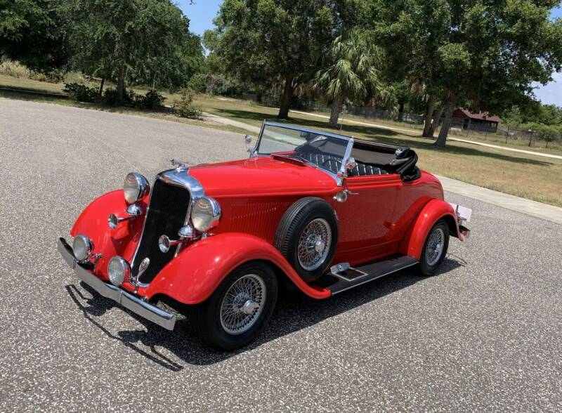 1933 Dodge Street Rod for sale at P J'S AUTO WORLD-CLASSICS in Clearwater FL