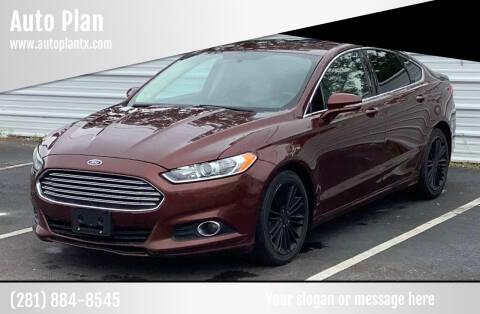 2015 Ford Fusion for sale at Auto Plan in La Porte TX