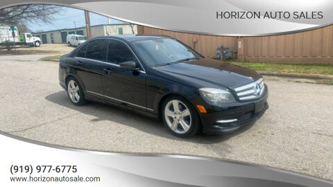 2011 Mercedes-Benz C-Class for sale at Horizon Auto Sales in Raleigh NC