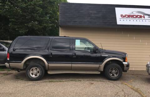 2000 Ford Excursion for sale at Gordon Auto Sales LLC in Sioux City IA