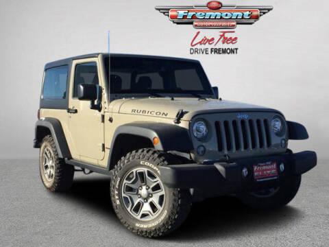 2018 Jeep Wrangler JK for sale at Rocky Mountain Commercial Trucks in Casper WY
