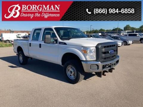 2016 Ford F-250 Super Duty for sale at BORGMAN OF HOLLAND LLC in Holland MI
