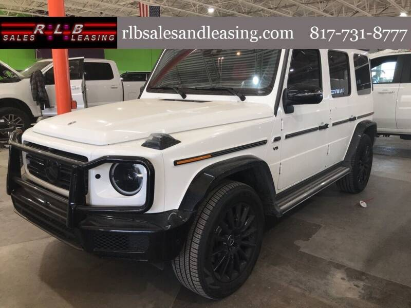 2021 Mercedes-Benz G-Class for sale at RLB Sales and Leasing in Fort Worth TX