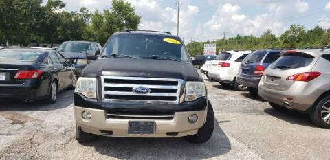 2008 Ford Expedition for sale at Anthony's Auto Sales of Texas, LLC in La Porte TX