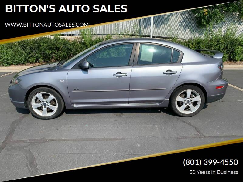2004 Mazda MAZDA3 for sale at BITTON'S AUTO SALES in Ogden UT