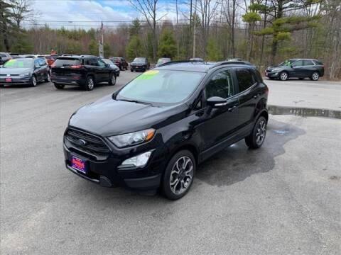 2019 Ford EcoSport for sale at North Berwick Auto Center in Berwick ME