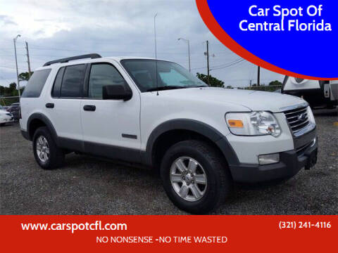 2006 Ford Explorer for sale at Car Spot Of Central Florida in Melbourne FL