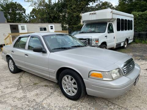 2008 Ford Crown Victoria for sale at Quality Motors of Germantown in Philadelphia PA