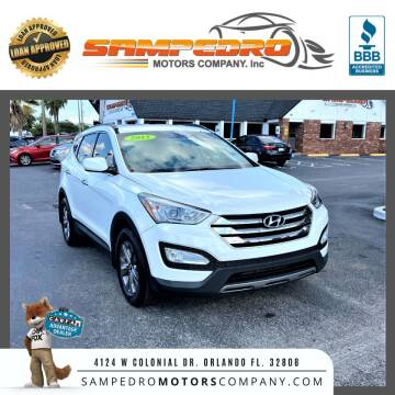 2015 Hyundai Santa Fe Sport for sale at SAMPEDRO MOTORS COMPANY INC in Orlando FL