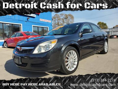2008 Saturn Aura for sale at Detroit Cash for Cars in Warren MI