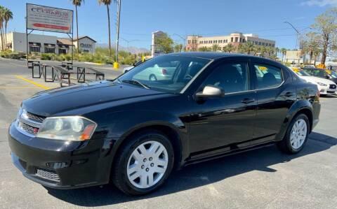 2014 Dodge Avenger for sale at Charlie Cheap Car in Las Vegas NV
