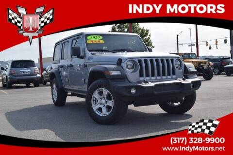 2020 Jeep Wrangler Unlimited for sale at Indy Motors Inc in Indianapolis IN